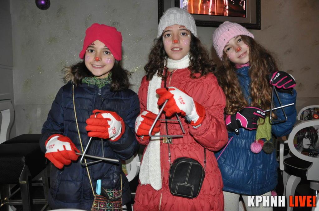 Έψαλλαν τα Πρωτοχρονιάτικα κάλαντα τα παιδιά της Φαρκαδόνας