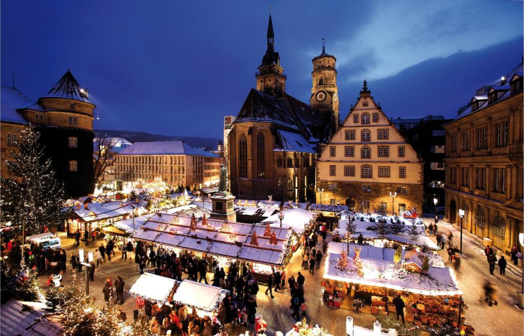 Weihnachtsmarkt in Stuttgart, Schillerplatz