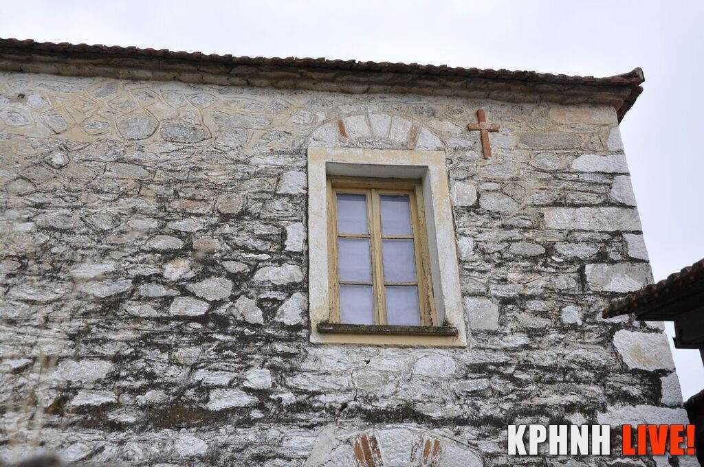 Εικόνα 4 Όψη σε σπίτι στο Γριζάνο με το σημείο του σταυρού